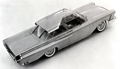 The experimental 1956 Mercury XM-Turnpike Cruiser was developed as a show car and paved the way for the Cruisers in 1957 and 1958.