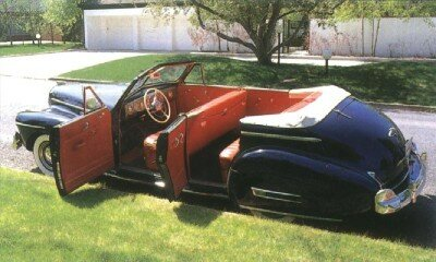 The convertible phaeton was in its last year in 1941.