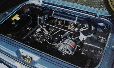 The 1983, the 2.0-liter flat four-cylinder engine in the Volkswagen Bus was re-engineered, going from air-cooled to water-cooled. It had 82 horsepower.