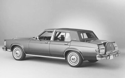 The 1979 Lincoln Versailles was hastily developed to rival Cadillac's more compact Seville.