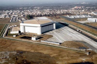 The maintenance and support complex for Air Force One, at Andrews Air Force Base in Maryland