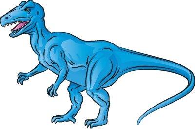 Learn how to draw the Allosaurus dinosaur.