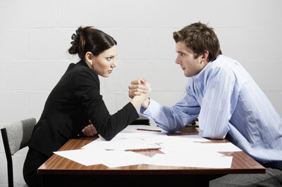 Get your game face on and be prepared for a fight when you enter a negotiation.