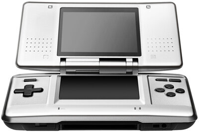 Nintendo DS is essentially a larger, two-screen game boy. See more ­video game system pictures