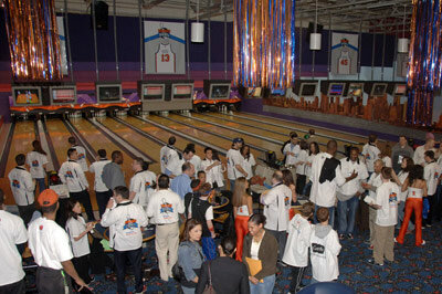 At Chelsea Piers you can bowl, or you can spend the weekend playing soccer, basketball or even ice hockey.