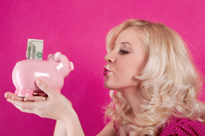 The worsening financial crisis has led people to embrace the concept of saving. See more banking pictures.
