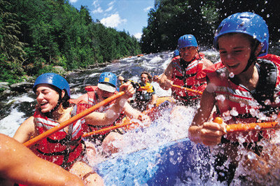 Extreme Sports Image Gallery White-water rafting is a fun (and wet) adventure sport. See pictures of extreme sports.