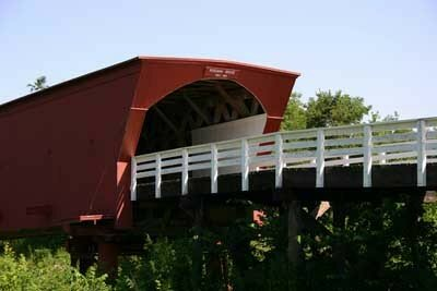 The Holliwell Bridge is one of the five original bridges still standing in                                  Madison County.