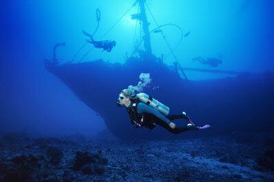 Worst case scenario -- your boat becomes an underwater attraction.