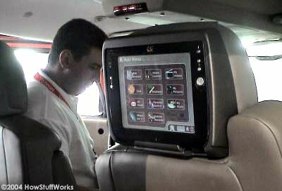 Inside the Visteon Hummer