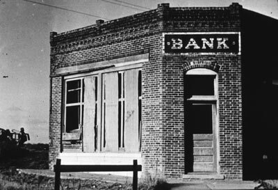If ever your bank looks this dismal and abandoned, the FDIC will be there to save the day.