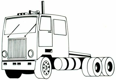 Learn how to draw this semi-truck.