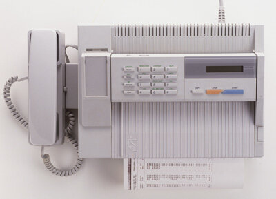Thermal fax machines work by implementing heat to print a fax.