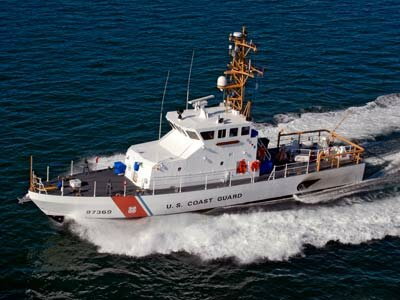 The U.S. Coast Guard has many duties -- one of them is making sure fishing boats are following the laws of the United States.