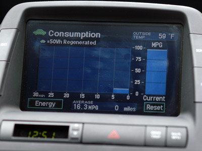 Tracking your miles per gallon can help change driving habits.