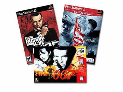 """The James Bond franchise has spawned three popular video games: """"Goldeneye 007,"""" """"Everything or Nothing"""" and """"From Russia With Love."""""""