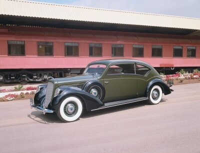 The 1938 Lincoln Model K Judkins suffered slow sales after the Great Depression.
