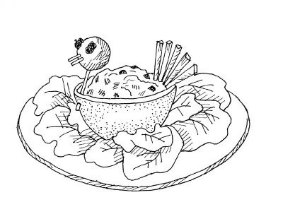 Take the time to make a special bird for the table.