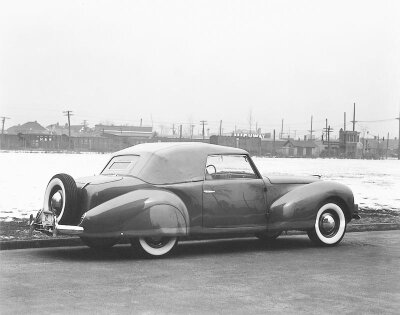 The 1939 Lincoln Continental was conceived by Edsel Ford and caused an immediate sensation.