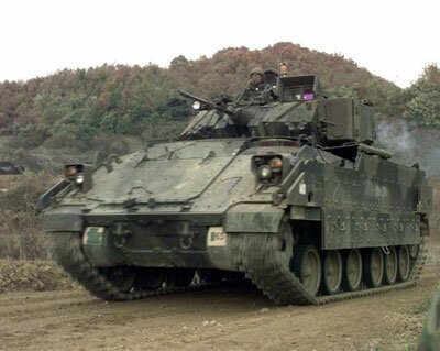 M2A1 Bradley Fighting Vehicle
