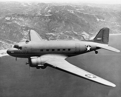 The durable Douglas C-47 Skytrain was the military variant of the Douglas DC-3. It was America's do-anything, go-anywhere transport plane of World War II. See more classic airplane pictures.