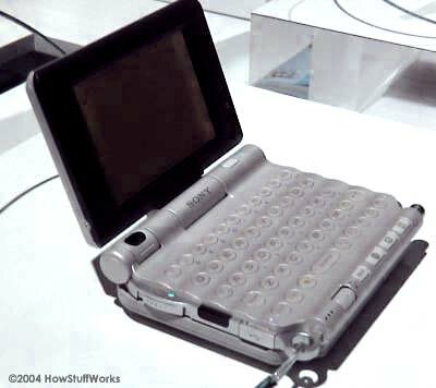 The Sony UX50 PDA