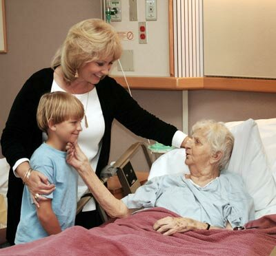 Photo courtesy ©Dreamstime 2000-2007                              Keeping your family informed of what's in your living will can ease the difficulty of a long hospital stay.