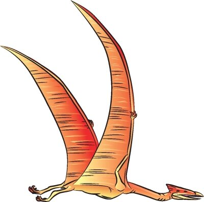 Learn how to draw this Quetzalcoatlus dinosaur.