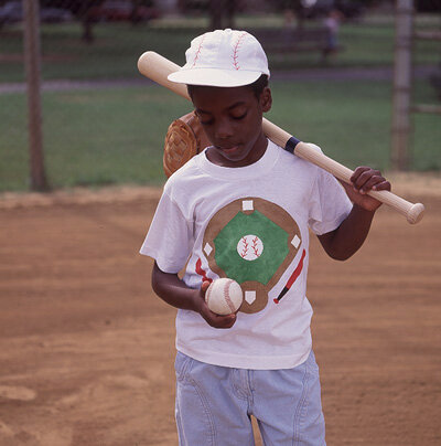 The baseball forever shirt is a wearable craft boys will love.