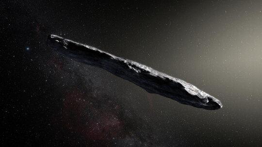 Meet '`Oumuamua,' the Strange Interstellar Asteroid That Sent Us a Message