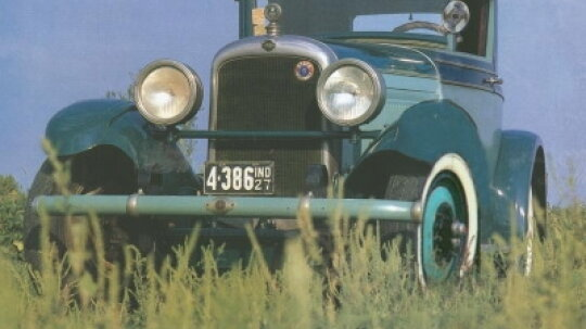 1928 Nash Advanced Six Coupe