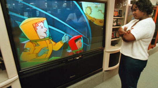 10 Largest HDTV Displays