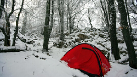 10 Spectacular Places to Camp in the Winter