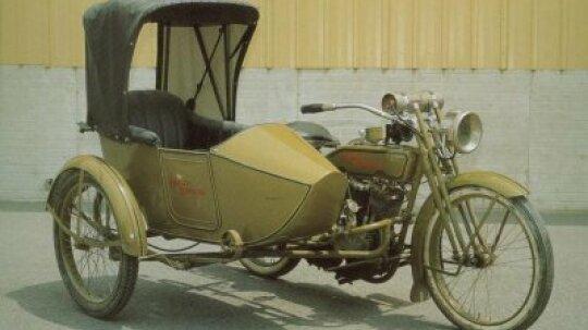 1918 Harley-Davidson 18-J