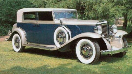 1931-1933 Marmon Sixteen