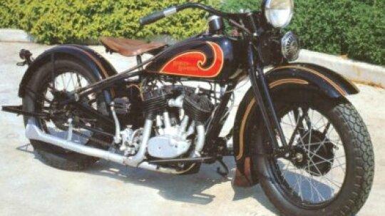 1931 Harley-Davidson Model D