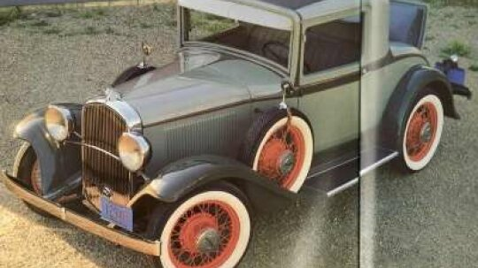 1932 Plymouth PA Rumble-Seat Coupe