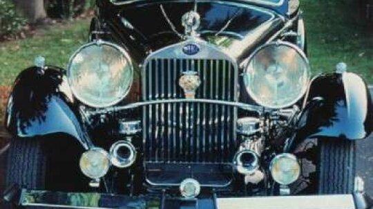 1933 Delage D8S Sports Coupe