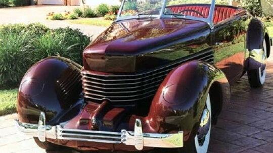 1936 Cord 810 Convertible