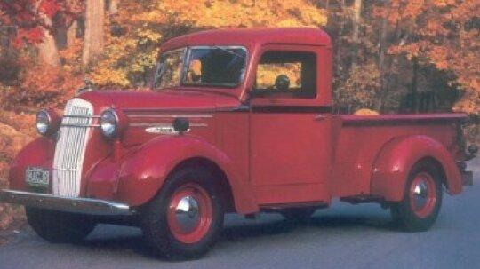 1937-1938 Mack Jr Half-Ton Pickup