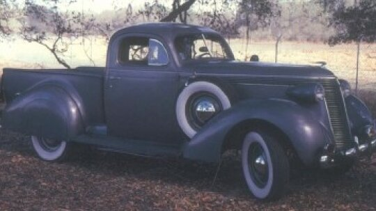 1937-1938 Studebaker Coupe-Express