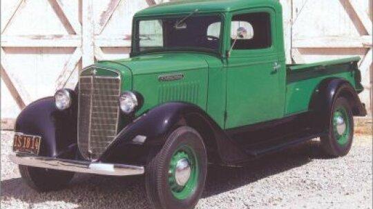 1937 International C-1 Pickup