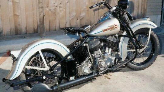 1938 Harley-Davidson UL