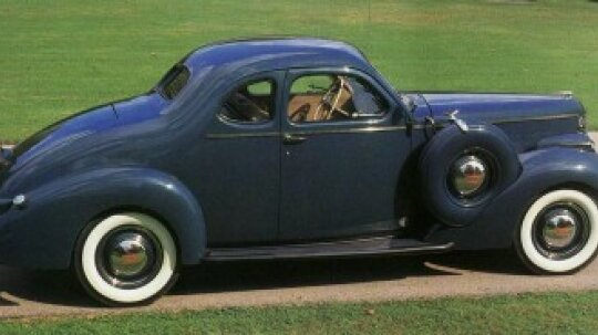 1938 Studebaker State President Coupe