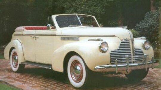 1940 Buick Special Convertible Sedan