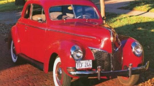1940 Mercury Club Coupe