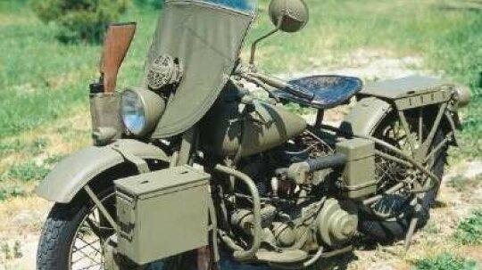 1942 Harley-Davidson WLA and XA