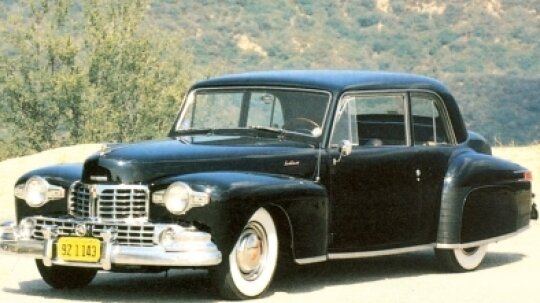 1946 Chrysler Continental Coupe