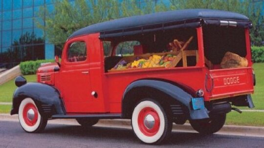 1947 Dodge Canopy Delivery