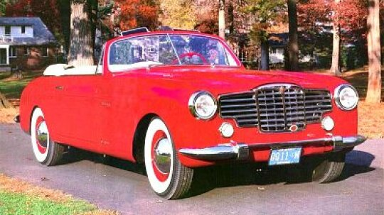 1948 Packard Vignale Convertible Coupe